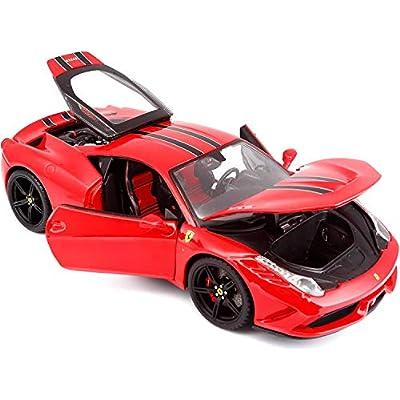 Bburago 1:18 Scale 458 Speciale Diecast Vehicle: Bburago: Toys & Games