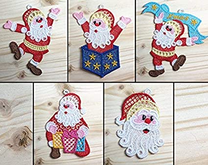 Amazon Com Louise S Country Closet Santa Claus Pack 1 Machine