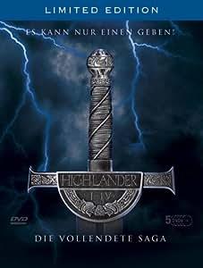 Highlander - Die vollendete Saga [Alemania] [DVD]