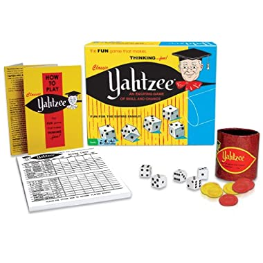 Winning Moves Games Yahtzee Classic An Exciting Game Of Skill And Chance