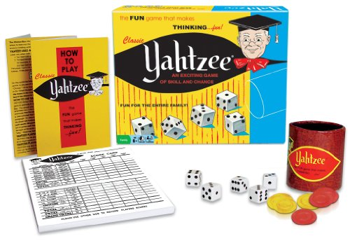 Classic Yahtzee, An Exciting Game Of Skill And Chance