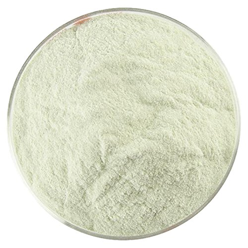 - Medieval Green Transparent Powder Frit - 4oz - 90COE - Made From Bullseye Glass