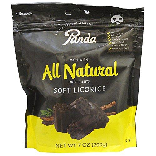 Panda Natural Soft Licorice Pack