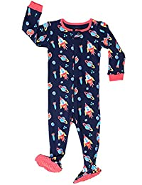 "Elowel Baby Boys footed ""Rocket"" pajama sleeper 100% cotton (size 6M-5Years)"