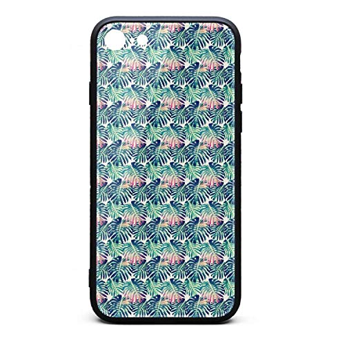 Best Phone case iPhone 6/6s Plus Tropical Leaves Green Seamless Floral Hard Cell iPhone 6s Plus Basic 6 Plus