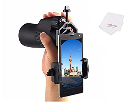 Amazon fosoto cellphone telescope adapter compatible with