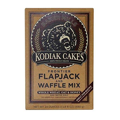 Kodiak Cakes Flapjack and Waffle Mix - Whole Wheat Oat and Honey - Case of 6-24 oz. ()