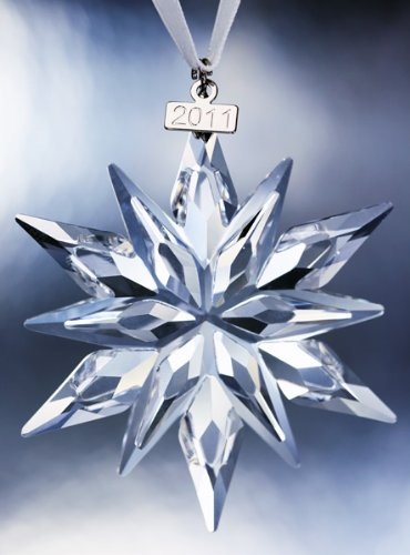 Amazon.com: Swarovski 2011 Annual Edition Crystal Snowflake Ornament: Home  & Kitchen - Amazon.com: Swarovski 2011 Annual Edition Crystal Snowflake Ornament