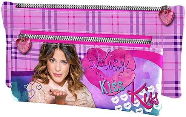 Violetta bolsa de aseo beauty kiss: Amazon.es: Zapatos y complementos