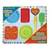 Kyпить 10 Piece The Little Cook Silicone Bakeware Set на Amazon.com