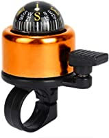 Natuworld Generic Tempting Alloy Mini Bike Bicycle Handlebar Bell Ring with Compass - 6 Colors Available