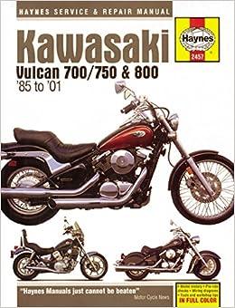 Kawasaki Vulcan 700 1985 750 85 06 800 95 05 Classic 96 02 600 Drifter 99 Haynes Powersport Paperback