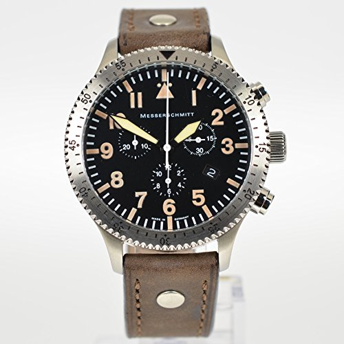 Messerschmitt Chrono ME 5030 Vintage Men's Pilot Watch