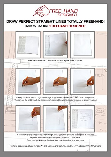 Drawing Lines Freehand : Grid type lettersize freehand designer sheets draw