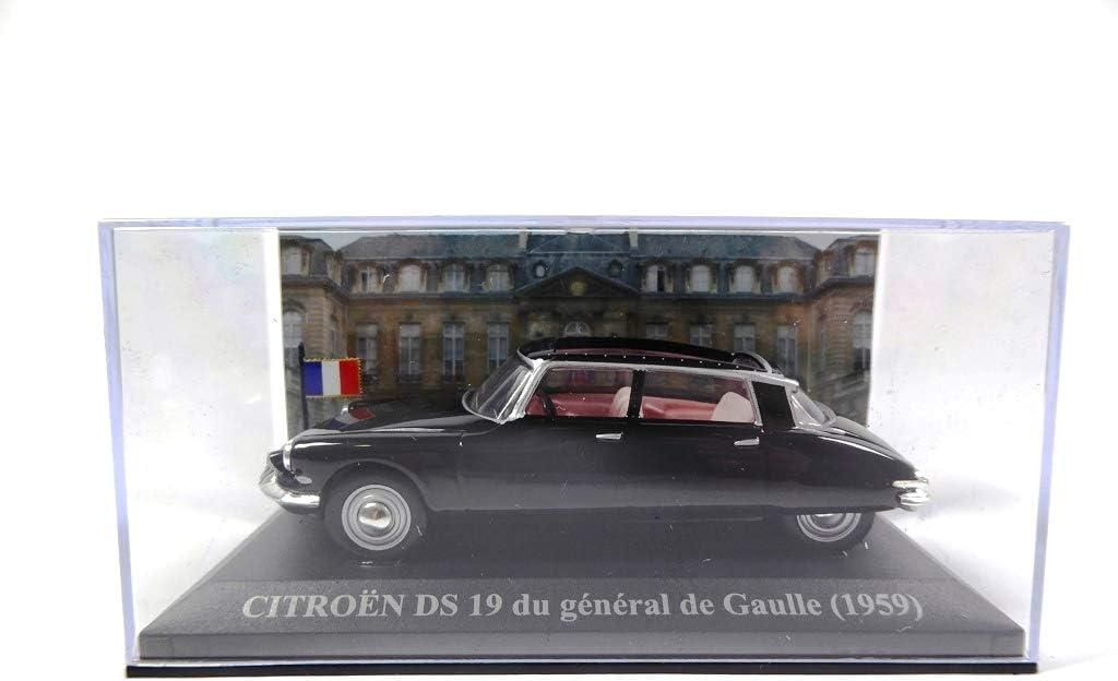 OPO 10 Voiture pr/ésidentielle du G/én/éral de Gaulle 1959 Citroen DS 19 /à l/échelle 1//43