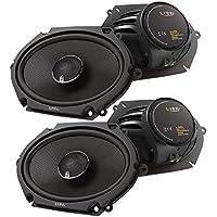 (2X) Infinity Kappa 682.11cf 6 x 8 / 5 x 7 2-Way Kappa Series Coaxial Car Speakers