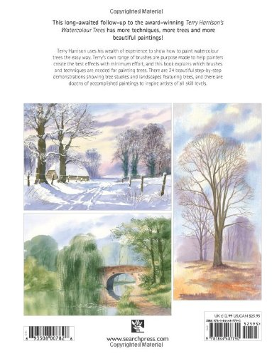 Painting Watercolour Trees The Easy Way Brush With 3 Watercolours Amazoncouk Terry Harrison Books