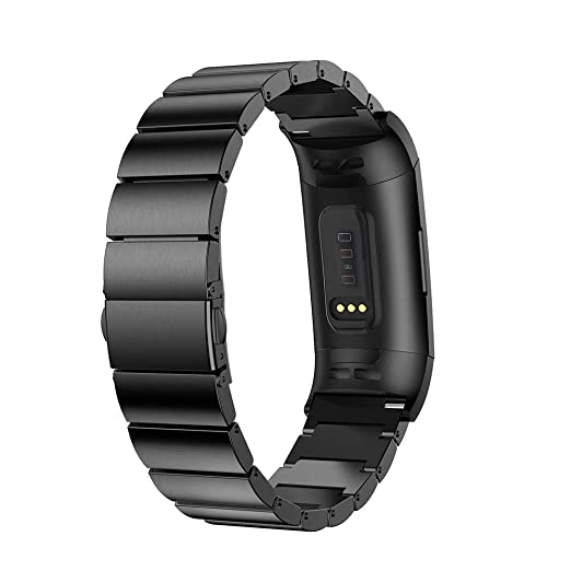 Amazon com: Fitbit Charge 3 Bands,Becoler Replacement Leather