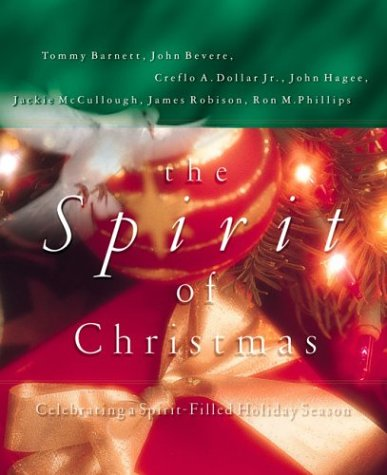 Book cover from The Spirit of Christmasby John Bevere