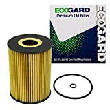 oil filter porsche cayenne - ECOGARD X5691 Cartridge Engine Oil Filter for Conventional Oil - Premium Replacement Fits Porsche 911, Cayenne, Panamera, Macan / BMW M3, M5, M6