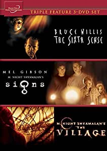 The Sixth Sense / Signs / The Village (Triple Feature 3-DVD Set)