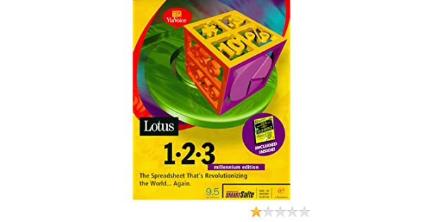 Amazon com: Lotus 123 Millennium Edition 9 5