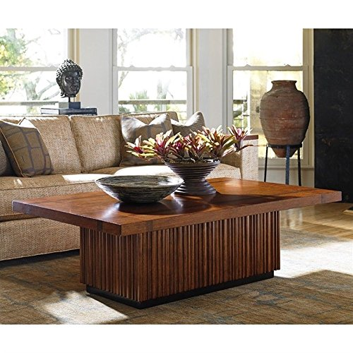 Amazon Com Tommy Bahama Island Fusion Castaway Wood Coffee Table In
