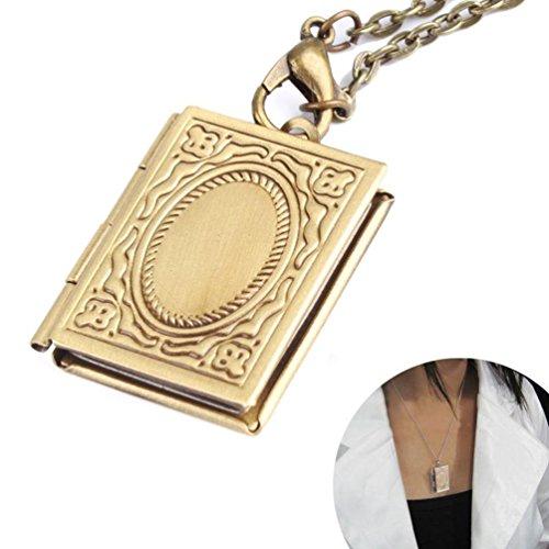 Antique Bronze Necklace Vintage Pendants product image