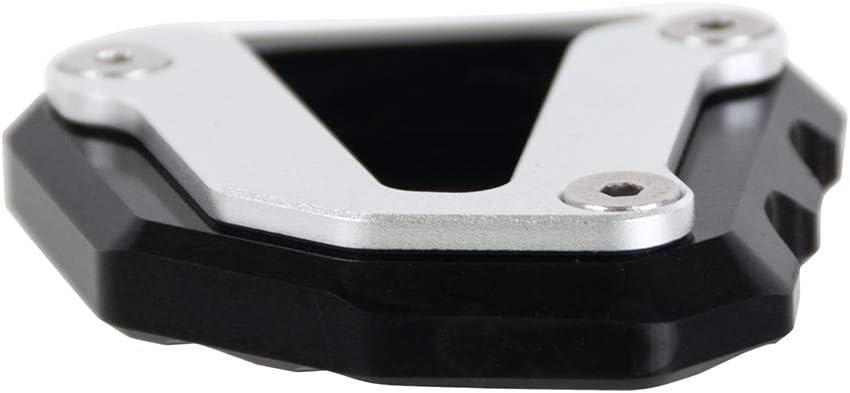 Piastra ingranditore in alluminio Nero per Duke 790 2018-2019 Nawenson allargamento del piede del cavalletto laterale del motociclo