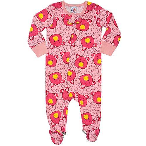 Pijama Macacão Tipguinhos Rosa Claro M