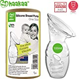 Haakaa Manual Breast Pump 4oz/100ml,2019 New Style: more info
