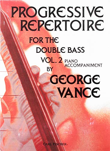 O5462 - Progressive Repertoire for the Double Bass, Vol. 2