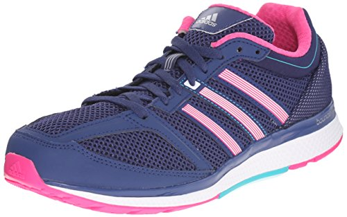 Adidas Performance Dames Mana Rc Bounce Loopschoenen Raw Purple / Shock Pink / Shock Green