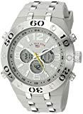 U.S. Polo Assn. Sport Men's Quartz Metal and Rubber Casual Watch, Color:Grey (Model: US9433)