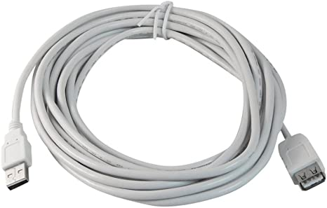 15ft USB 2.0 Extension /& 10ft A Male//B Male Cable for Stylus Photo 1275 Stylus Photo 1290 Stylus Photo 1400