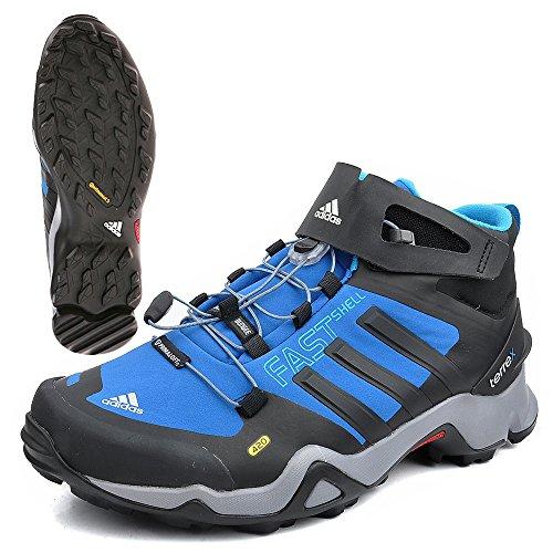 Adidas Outdoor Bekleidung Terrex Fastshell Mid Ch Blubea/black1/solblu, Größe Adidas:6.5
