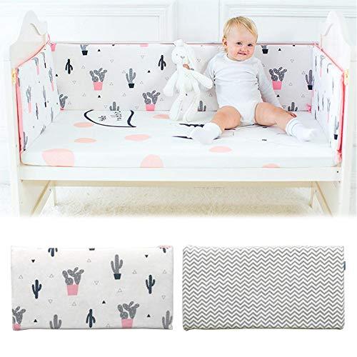 Bettwäschegarnituren Niedrigerer Preis Mit All-round Kissen Kissen Junior Bett Schlaf Stoßfänger Für Baby Gelb