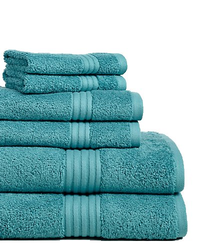 Chortex - Toallas (lino 6 piezas Juego de toallas, color verde: Amazon.es: Hogar