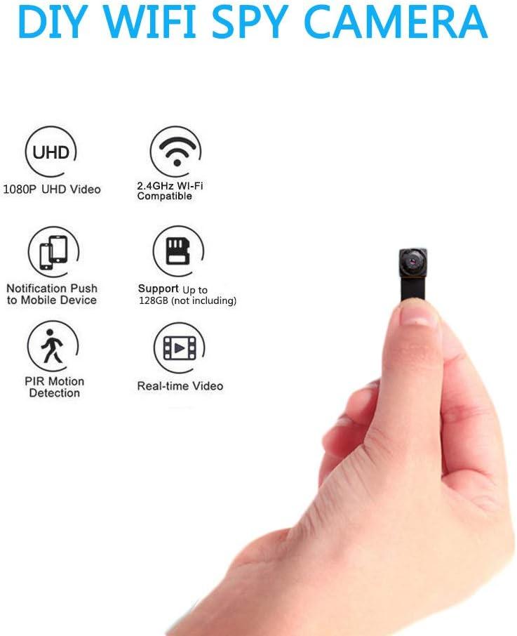 Wireless WiFi 1080P 4K HD Spy DIY Screw Hidden Mini Camera Video DVR cam