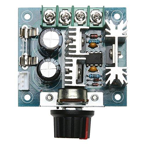Alloet 12V24V30V40V DC Motor Speed Governor PWM Controller 10A