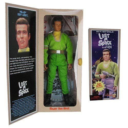 Lost in Space Major Don West 12-Inch Action Figure by Executive Replicas [parallel import goods]