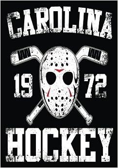 Carolina 1972 Hockey: Hockey Notebook & Personal Stats Tracker 100 Games por Dartan Creations