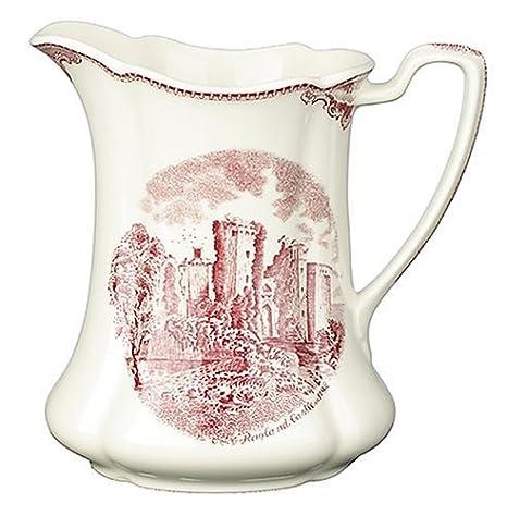 Amazon.com: Johnson Brothers Antiguo Bretaña Castillos rosa ...