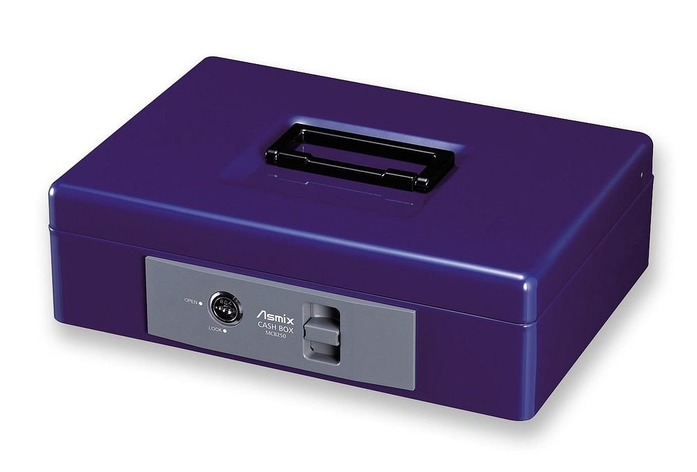 (まとめ買い) アスカ Asmix 手提金庫 書類A5サイズ収納 MCB250 【×3】 B075K5D72G