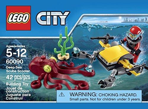 LEGO City Deep Sea Explorers Scuba Scooter (42pcs) Figures Building Block Toys