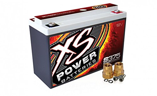 XS Power S375 'S Series' 12V 800 Amp AGM Automotive Starting Battery with Terminal