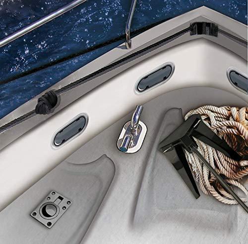 51TTW2XAMCL Principales ventajas: especialista en el mantenimiento de barcos, fácil de aplicar, alta elasticidad, compatible con pinturas, multi-material, resistente al agua y a los rayos uv. Modo de empleo: cortar boquilla, colocar cartucho en la pistola de silicona, aplicar en juntas de dilatación evitando burbujas, el adhesivo húmedo se elimina con alcohol, isopropilo o acetona, el seco, mecánicamente. Aplicación: especial para pegar, sellar y rellenar material náutico que está en contacto directo con el agua, como cubiertas de barcos e imprescindible en la construcción naval y reparaciones de embarcaciones.