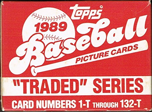 1989 Topps Traded Set Complete M (Mint)