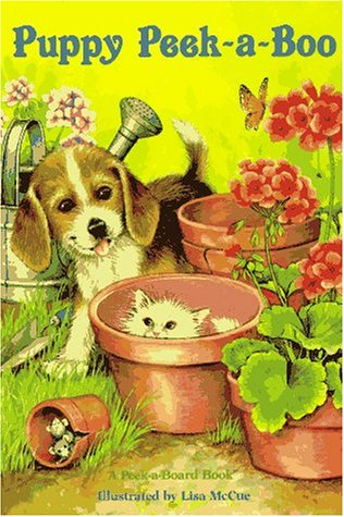 Puppy Peek-A-boo (Peek-A-Board Books)