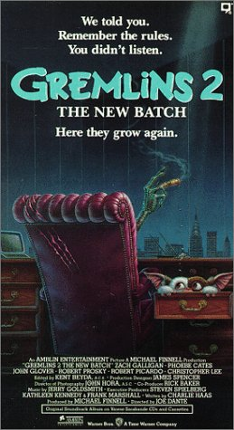 Gremlins 2:the New Batch [VHS]